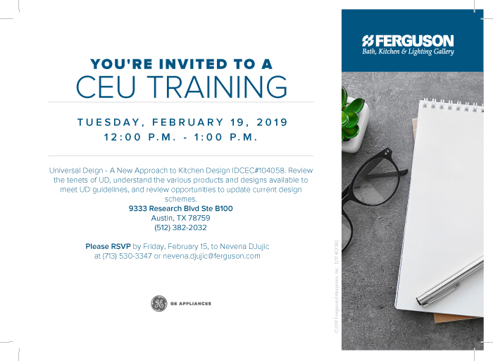 Please Rsvp By February 15th To Nevena Djujic At Ferguson Questions Call 713 530 3347